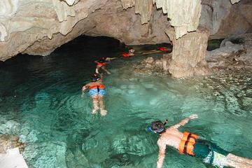 Tulum Ruins and Underground Cenote...