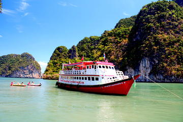 Canoeing at James Bond Island with Escort Boat from Phuket