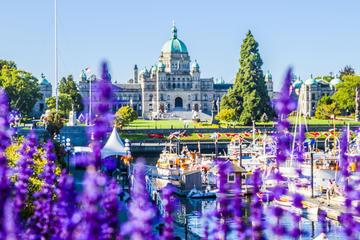 Transfert en bus de l'aéroport international de Vancouver au...