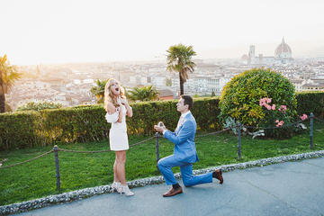 Marriage Proposal Photographer in Florence