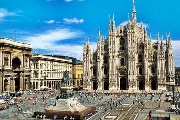 Milan city from Lake Garda