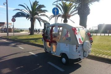 Tuk Tuk tour in the centre of Cagliari 4 districts and flamingo spotting