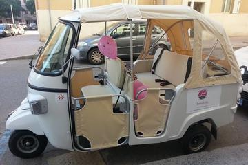 Tuk Tuk tour in the centre of Cagliari and Italian Style Aperitif