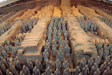 Private Day Tour With English-Speaking Driver-Guide For Double Terracotta Warriors