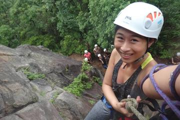 Half day rock climbing and rappelling experience just in Taipei city...