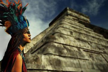 Chichen Itza, Cenote Hubiku and Ek...