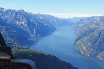 Day Trip Discovery Passage Helicopter Tour near Campbell River, Canada