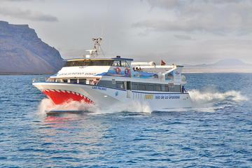 Lanzarote to La Graciosa Island...