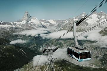 Rothorn-Aufzug-Tickets von Zermatt...