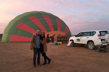 1-hour Private Hot Air Balloon Flight in Marrakech with Breakfast