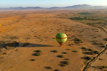 1-Hour VIP Sunrise Hot Air Balloon Flight from Marrakech with Breakfast