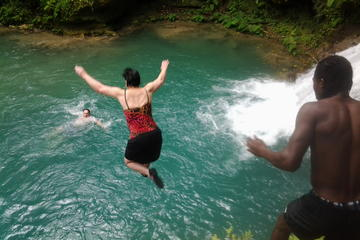 Falmouth Shore Excursion: Blue Hole, White River Tubing
