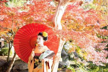 Scenic Kyoto Private Photo Shoot with an Authentic Maiko