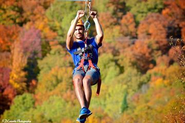 Mega Ziplines over Laurentian...