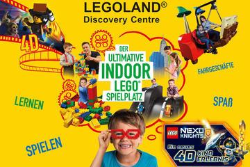 Eintrittskarte für LEGOLAND Discovery Centre Berlin
