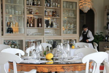Exclusive Gourmet Stop on the road A1: Choose between Lunch - Dinner or Lunch with private transfer at 2 Michelin forks Restaurant degli Angeli near Rome