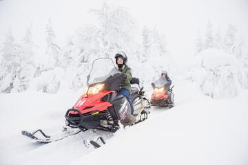 2 hours Snow Mobile quick spin