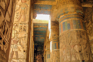 Day Tour to Luxor West Bank II(Habu Temple and the Valley of Queens and Workers)