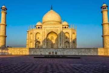 2 Days Agra Sunset and Sunrise Taj Mahal Private Tour from Delhi