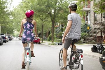 Recorrido en bicicleta por la ciudad en el centro y el sur del Viejo...