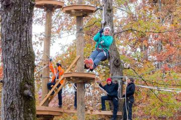 Book Climb Zip Swing Adventure Course in Pigeon Forge on Viator