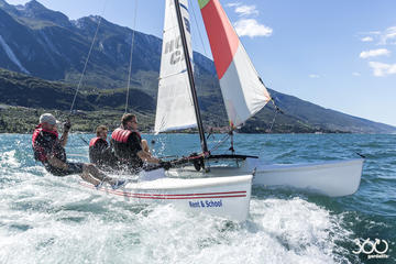 Catsailing from Malcesine