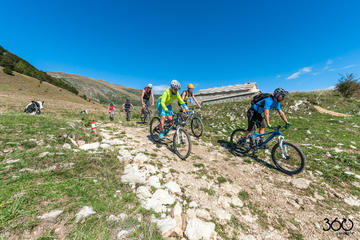 Easy Bike Route with MBT Guide on Monte Baldo: the Red Tour