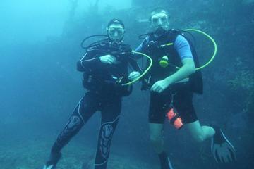 Diving in Deshaies