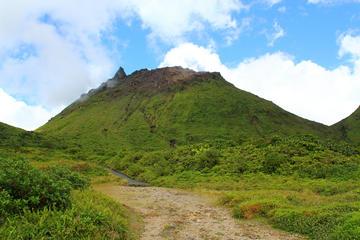 Hike La Soufrière Volcano