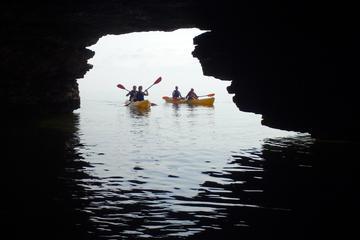 Visite en kayak de la grotte de Door...