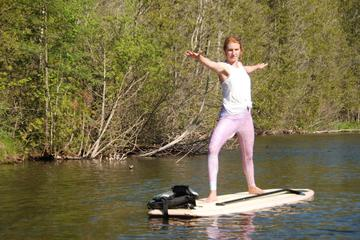 Day Trip Flow Yoga Paddle Board Tour near Austin, Texas