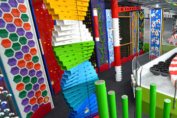 Clip N Climb Adventure Climbing at Game Over on the Gold Coast