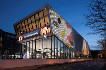 Entrada al Museo del fútbol alemán en...