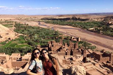 4 DAYS DESERT TOURS FROM MARRAKECH TO MERZOUGA and Fez