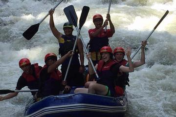 White Water Rafting and Waterfall Abseiling Day Trip from Penang