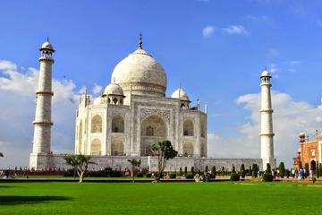 Private Day Trip of Taj Mahal and Agra Fort with Lunch from Delhi