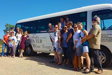 Hunter Valley Wine Tour from the Hunter with Wine Craft Beer Cheese Chocolate