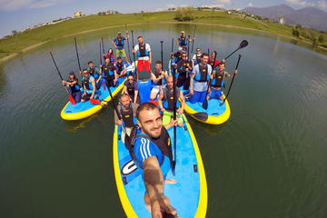 Stand Up Paddle in Farka Lake