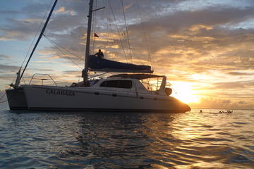 Afternoon Luxury Catamaran Sailing and Charter Cruise from Bridgetown