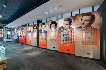 Entrada para el museo de Johnny Cash