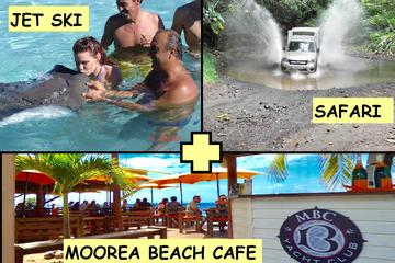 Moorea Jet Ski Tour, Lunch at Moorea Beach Cafe and 4WD Tour