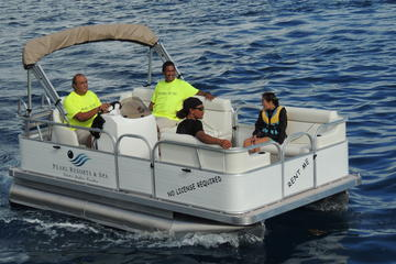 PRIVATE LUXURIY PONTOON BOAT WITH...