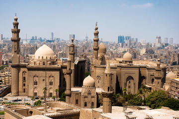 Old christian churches ,mosques and temple in Cairo