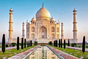 Private Taj Mahal at Sunrise from Delhi