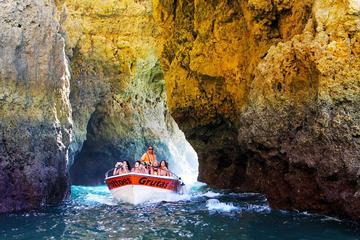 Ponta de Piedade Grotto Sightseeing...