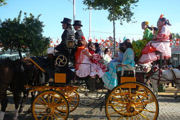 Half-Day Malaga Fair Bus Tour: Feria de Malaga