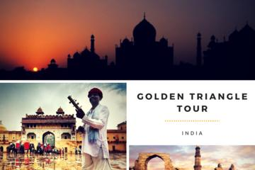 Golden Triangle Tour to New Delhi, Agra, Jaipur with Udaipur from Delhi