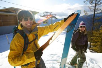 Ski or Snowboard Set