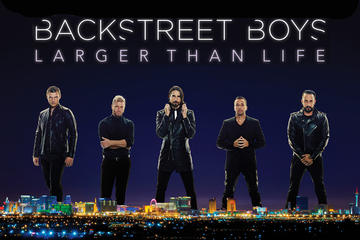Backstreet Boys with Meet and Greet Option at Planet Hollywood