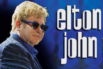 Elton John at the Colosseum at...